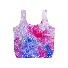 Glitter Pattern Background Full Print Recycle Bags (s)