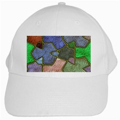 Background With Color Kindergarten Tiles White Cap