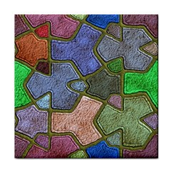 Background With Color Kindergarten Tiles Tile Coasters