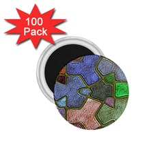 Background With Color Kindergarten Tiles 1 75  Magnets (100 Pack)