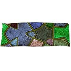 Background With Color Kindergarten Tiles Body Pillow Case (Dakimakura)