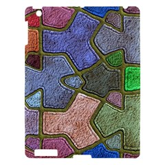 Background With Color Kindergarten Tiles Apple Ipad 3/4 Hardshell Case