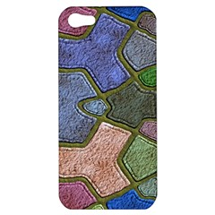 Background With Color Kindergarten Tiles Apple iPhone 5 Hardshell Case
