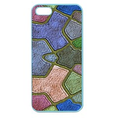 Background With Color Kindergarten Tiles Apple Seamless iPhone 5 Case (Color)