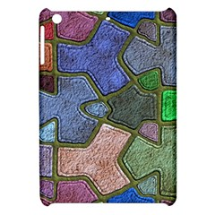 Background With Color Kindergarten Tiles Apple iPad Mini Hardshell Case