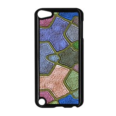 Background With Color Kindergarten Tiles Apple iPod Touch 5 Case (Black)
