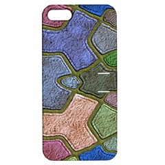 Background With Color Kindergarten Tiles Apple iPhone 5 Hardshell Case with Stand