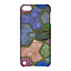 Background With Color Kindergarten Tiles Apple Ipod Touch 5 Hardshell Case With Stand