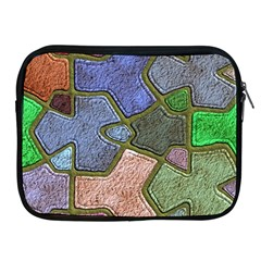 Background With Color Kindergarten Tiles Apple iPad 2/3/4 Zipper Cases