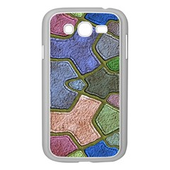 Background With Color Kindergarten Tiles Samsung Galaxy Grand Duos I9082 Case (white)