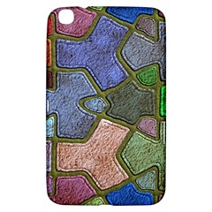 Background With Color Kindergarten Tiles Samsung Galaxy Tab 3 (8 ) T3100 Hardshell Case