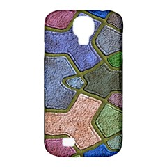 Background With Color Kindergarten Tiles Samsung Galaxy S4 Classic Hardshell Case (pc+silicone)