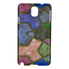 Background With Color Kindergarten Tiles Samsung Galaxy Note 3 N9005 Hardshell Case