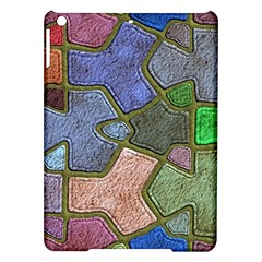 Background With Color Kindergarten Tiles iPad Air Hardshell Cases