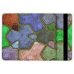 Background With Color Kindergarten Tiles iPad Air Flip