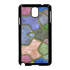 Background With Color Kindergarten Tiles Samsung Galaxy Note 3 Neo Hardshell Case (black)