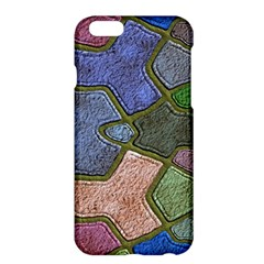 Background With Color Kindergarten Tiles Apple iPhone 6 Plus/6S Plus Hardshell Case