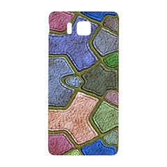 Background With Color Kindergarten Tiles Samsung Galaxy Alpha Hardshell Back Case