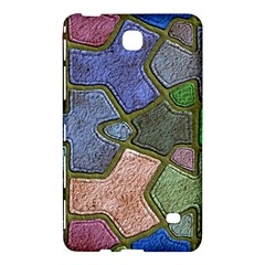 Background With Color Kindergarten Tiles Samsung Galaxy Tab 4 (7 ) Hardshell Case