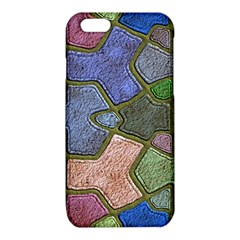 Background With Color Kindergarten Tiles iPhone 6/6S TPU Case