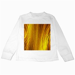 Light Doodle Pattern Background Wallpaper Kids Long Sleeve T-Shirts