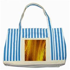 Light Doodle Pattern Background Wallpaper Striped Blue Tote Bag