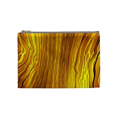 Light Doodle Pattern Background Wallpaper Cosmetic Bag (medium)