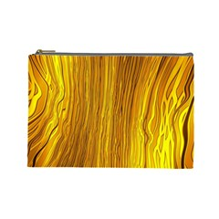 Light Doodle Pattern Background Wallpaper Cosmetic Bag (Large)