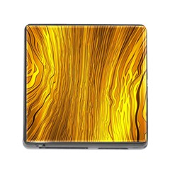 Light Doodle Pattern Background Wallpaper Memory Card Reader (Square)