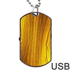 Light Doodle Pattern Background Wallpaper Dog Tag USB Flash (One Side)