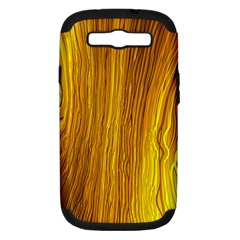 Light Doodle Pattern Background Wallpaper Samsung Galaxy S III Hardshell Case (PC+Silicone)