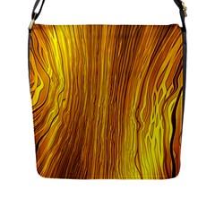 Light Doodle Pattern Background Wallpaper Flap Messenger Bag (L)