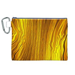 Light Doodle Pattern Background Wallpaper Canvas Cosmetic Bag (XL)