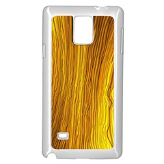 Light Doodle Pattern Background Wallpaper Samsung Galaxy Note 4 Case (White)
