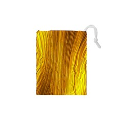 Light Doodle Pattern Background Wallpaper Drawstring Pouches (XS)