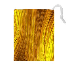 Light Doodle Pattern Background Wallpaper Drawstring Pouches (Extra Large)