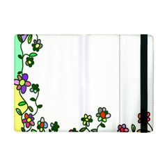 Floral Border Cartoon Flower Doodle Ipad Mini 2 Flip Cases