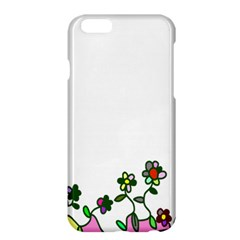 Floral Border Cartoon Flower Doodle Apple Iphone 6 Plus/6s Plus Hardshell Case