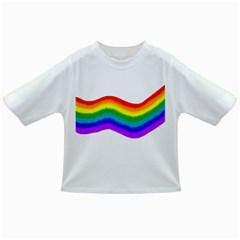 Watercolour Rainbow Colours Infant/toddler T Shirts