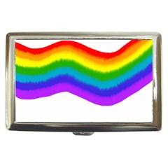 Watercolour Rainbow Colours Cigarette Money Cases
