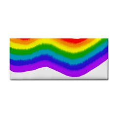 Watercolour Rainbow Colours Cosmetic Storage Cases