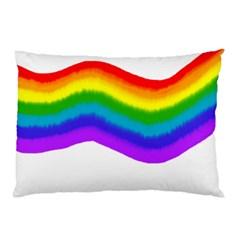 Watercolour Rainbow Colours Pillow Case