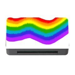 Watercolour Rainbow Colours Memory Card Reader with CF
