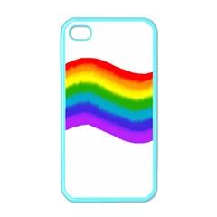 Watercolour Rainbow Colours Apple Iphone 4 Case (color)