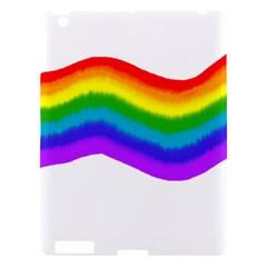 Watercolour Rainbow Colours Apple iPad 3/4 Hardshell Case