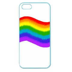 Watercolour Rainbow Colours Apple Seamless iPhone 5 Case (Color)