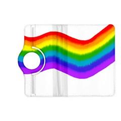 Watercolour Rainbow Colours Kindle Fire HD (2013) Flip 360 Case