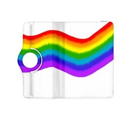 Watercolour Rainbow Colours Kindle Fire Hdx 8 9  Flip 360 Case