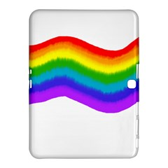 Watercolour Rainbow Colours Samsung Galaxy Tab 4 (10.1 ) Hardshell Case