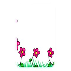 Floral Doodle Flower Border Cartoon Memory Card Reader